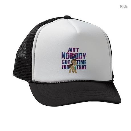 MLP Dr. Hooves Dark Kids Trucker hat