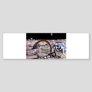moon base Sticker (Bumper)