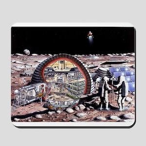 moon base Mousepad