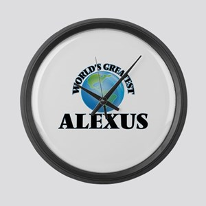 World's Greatest Alexus Large Wall Clock