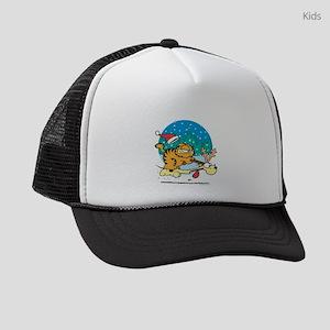XMAS09_CLASSICSLED_APP Kids Trucker hat