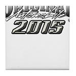 2015 Automobile Tile Coaster