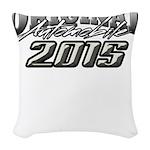 2015 Automobile Woven Throw Pillow