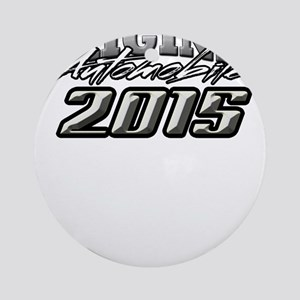 2015 Automobile Ornament (Round)