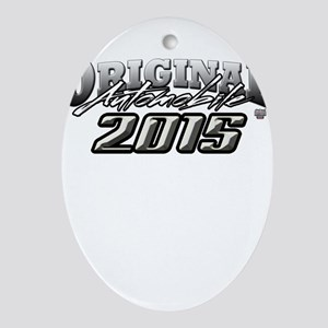 2015 Automobile Ornament (Oval)