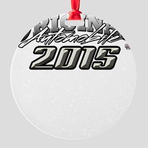 2015 Automobile Round Ornament