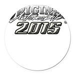 2015 Automobile Round Car Magnet