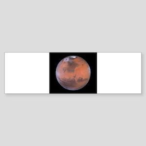 mars Sticker (Bumper)