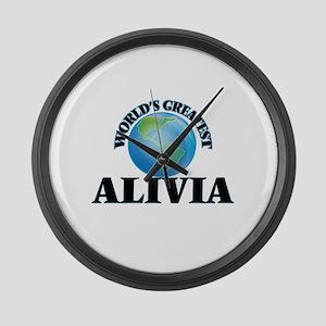 World's Greatest Alivia Large Wall Clock
