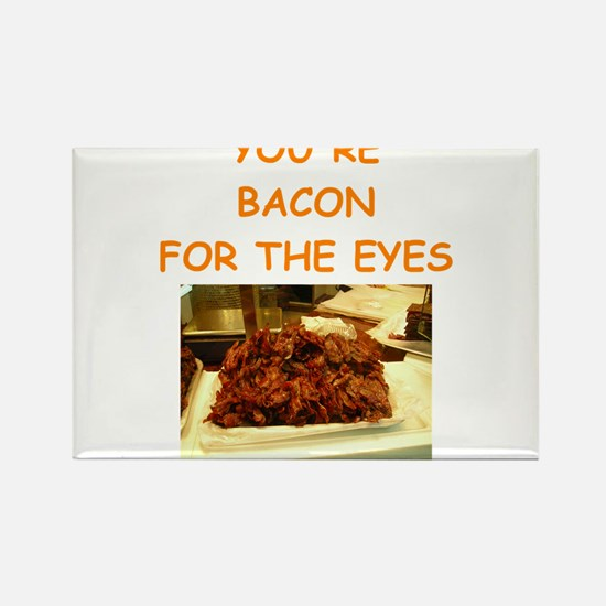 bacon Rectangle Magnet
