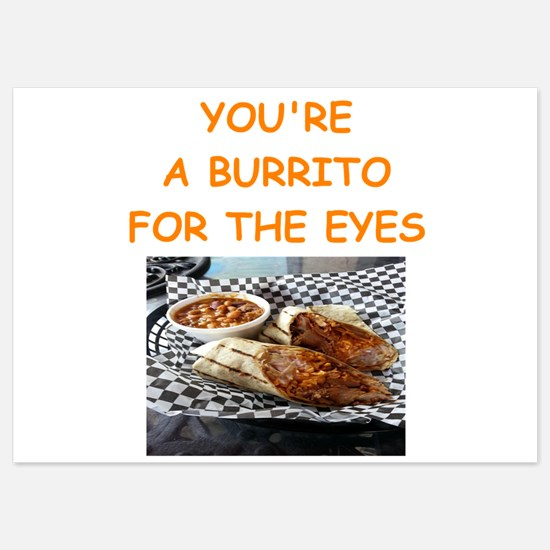 burrito lover Invitations