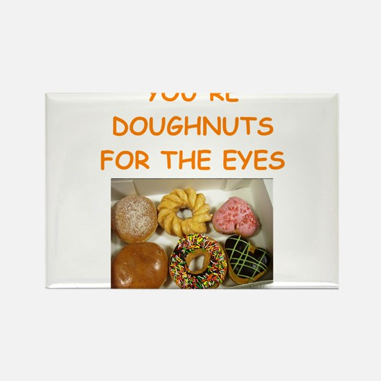 doughnut lover Rectangle Magnet