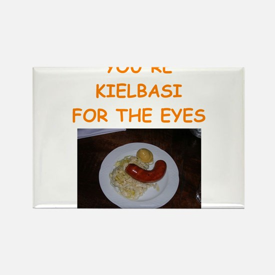 kielbasi Rectangle Magnet