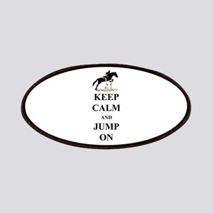 Keep Calm and Jump On Horse Patches