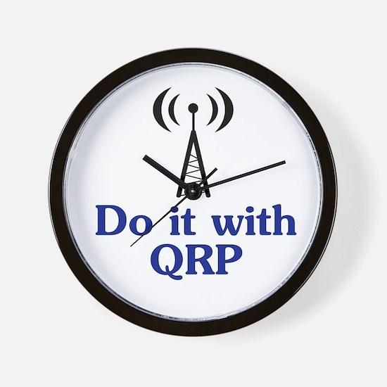 QRP Wall Clock