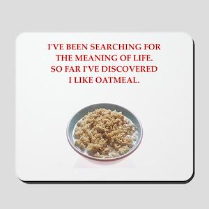 oatmeal Mousepad