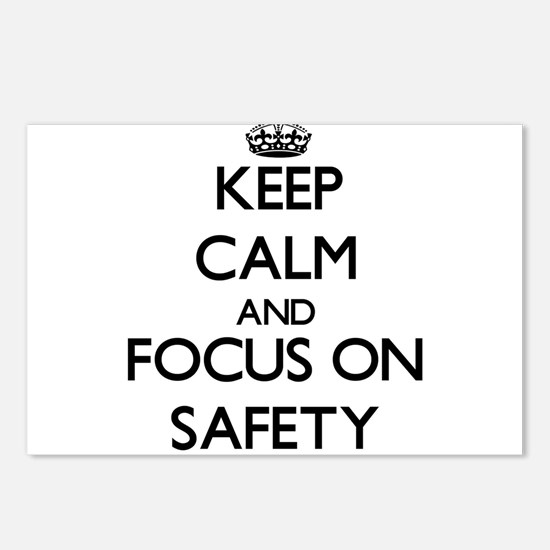 Keep Calm and focus on Sa Postcards (Package of 8)