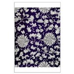 Abstract Whimsical Flowers Poster