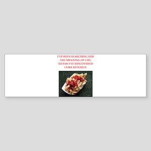 ketchup Sticker (Bumper)