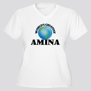 World's Greatest Amina Plus Size T-Shirt