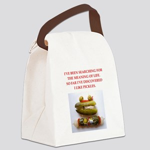 pickles Canvas Lunch Bag
