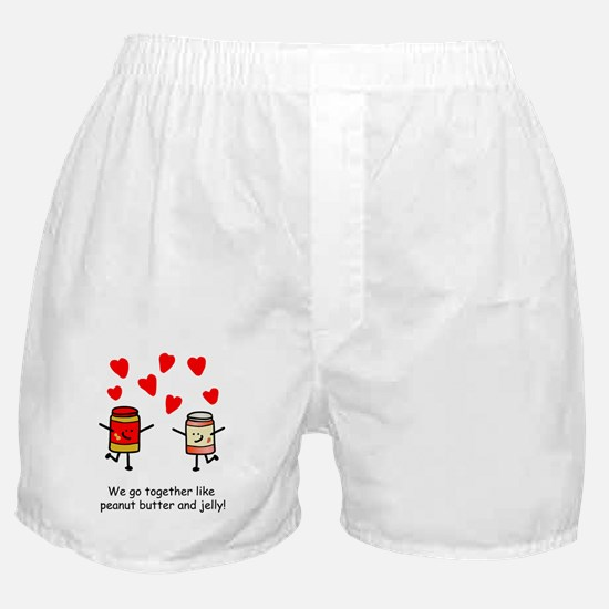 Peanut Butter and Jelly Boxer Shorts