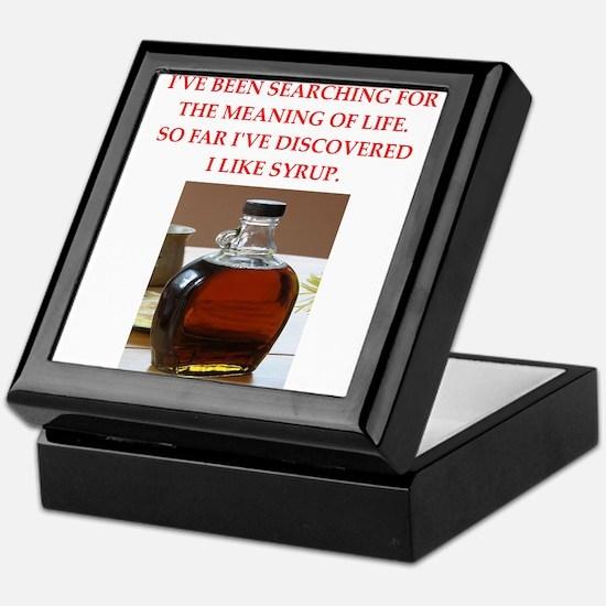 syrup Keepsake Box