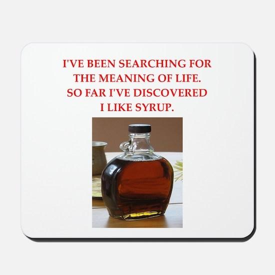 syrup Mousepad