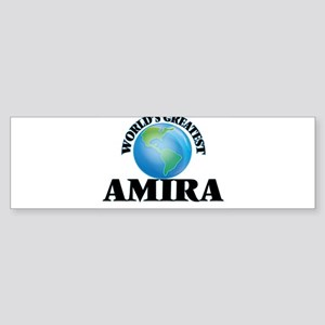World's Greatest Amira Bumper Sticker