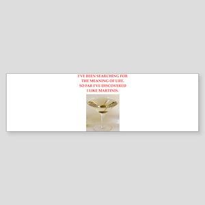 martini Sticker (Bumper)