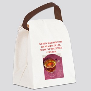 rum Canvas Lunch Bag