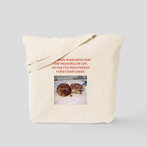 crab cakes Tote Bag