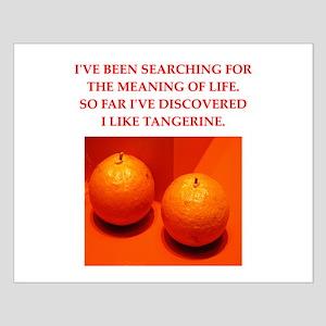 tangerine Small Poster