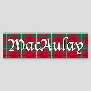 Tartan - MacAulay Sticker (Bumper)