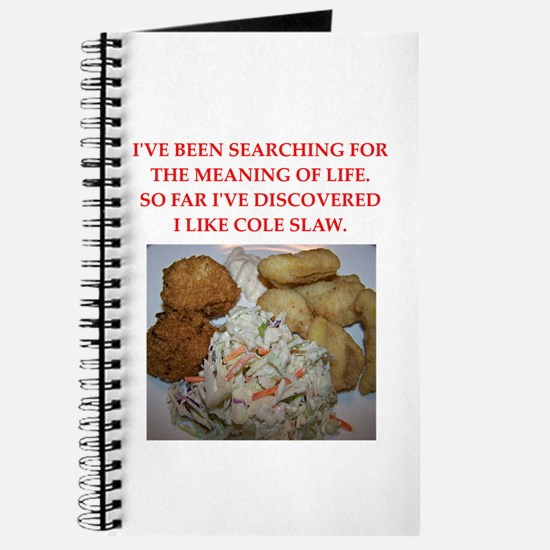cole slaw Journal