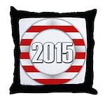 2015 LOGO Throw Pillow