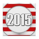 2015 LOGO Tile Coaster