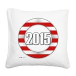 2015 LOGO Square Canvas Pillow
