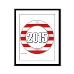 2015 LOGO Framed Panel Print