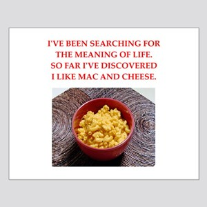 macaroni and cheese Small Poster