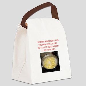 noodles Canvas Lunch Bag