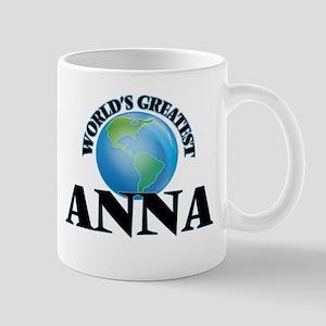 World's Greatest Anna Mugs