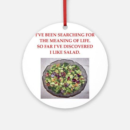 salad Ornament (Round)