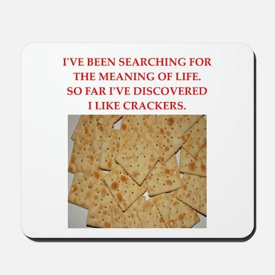 crackers Mousepad