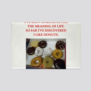 donuts Rectangle Magnet