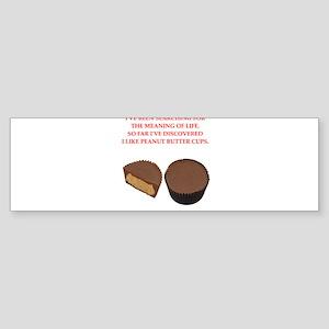 peanut butter cup Sticker (Bumper)