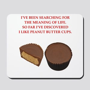 peanut butter cup Mousepad