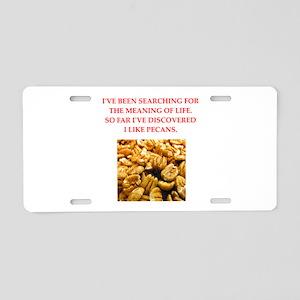 pecans Aluminum License Plate