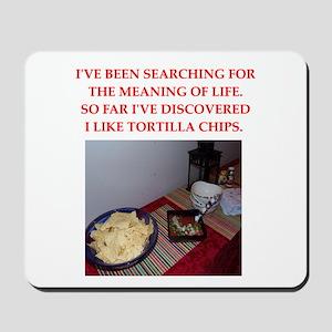 tortilla chips Mousepad