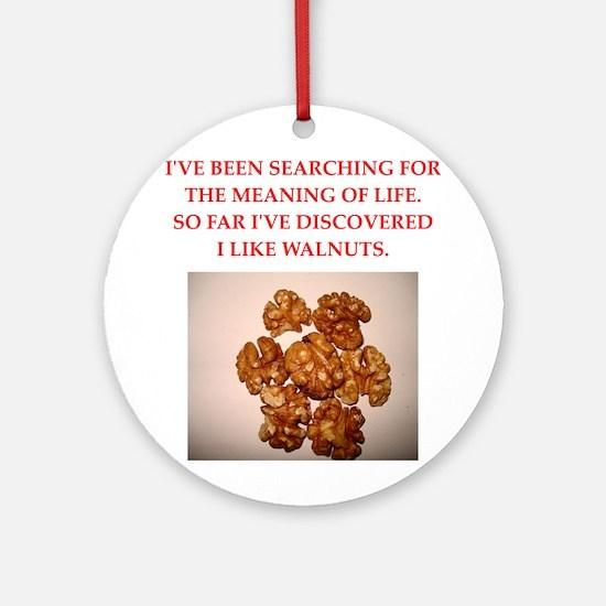 walnuts Ornament (Round)